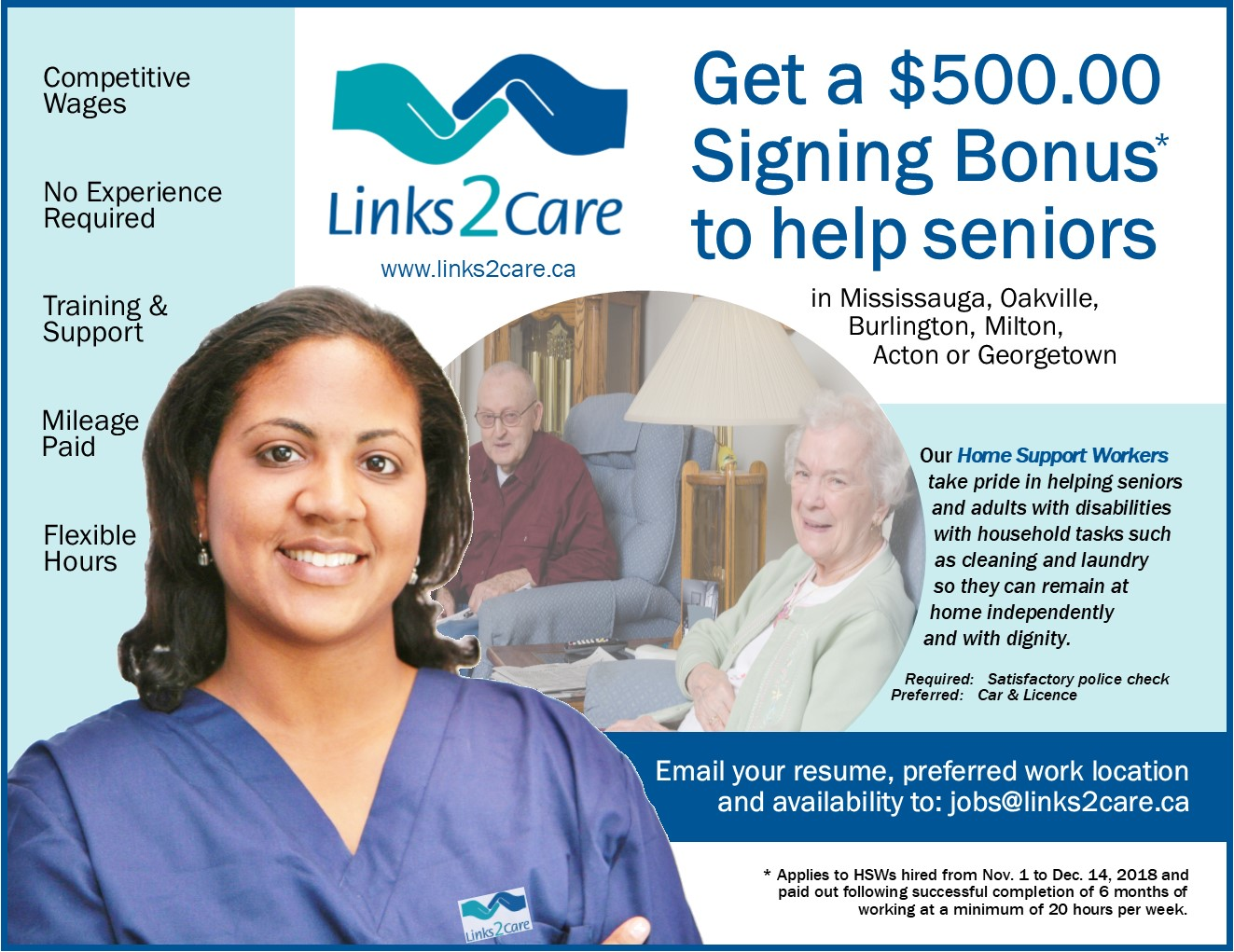 HSW Signing Bonus Flyer Oct  2018 Final ~ Links2Care
